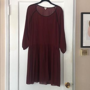 Sheer Aritzia dress